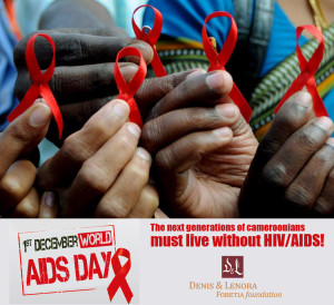 HIV AIDS Cameroon Infographic