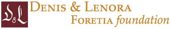 Denis & Lenora Foretia Foundation | Catalyzing Africa's Economic Transformation Logo