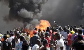 Burkina protest