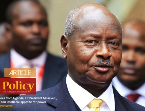 Political Echoes from Uganda; Of President Museveni, Cincinnatus and insatiable appetite for power
