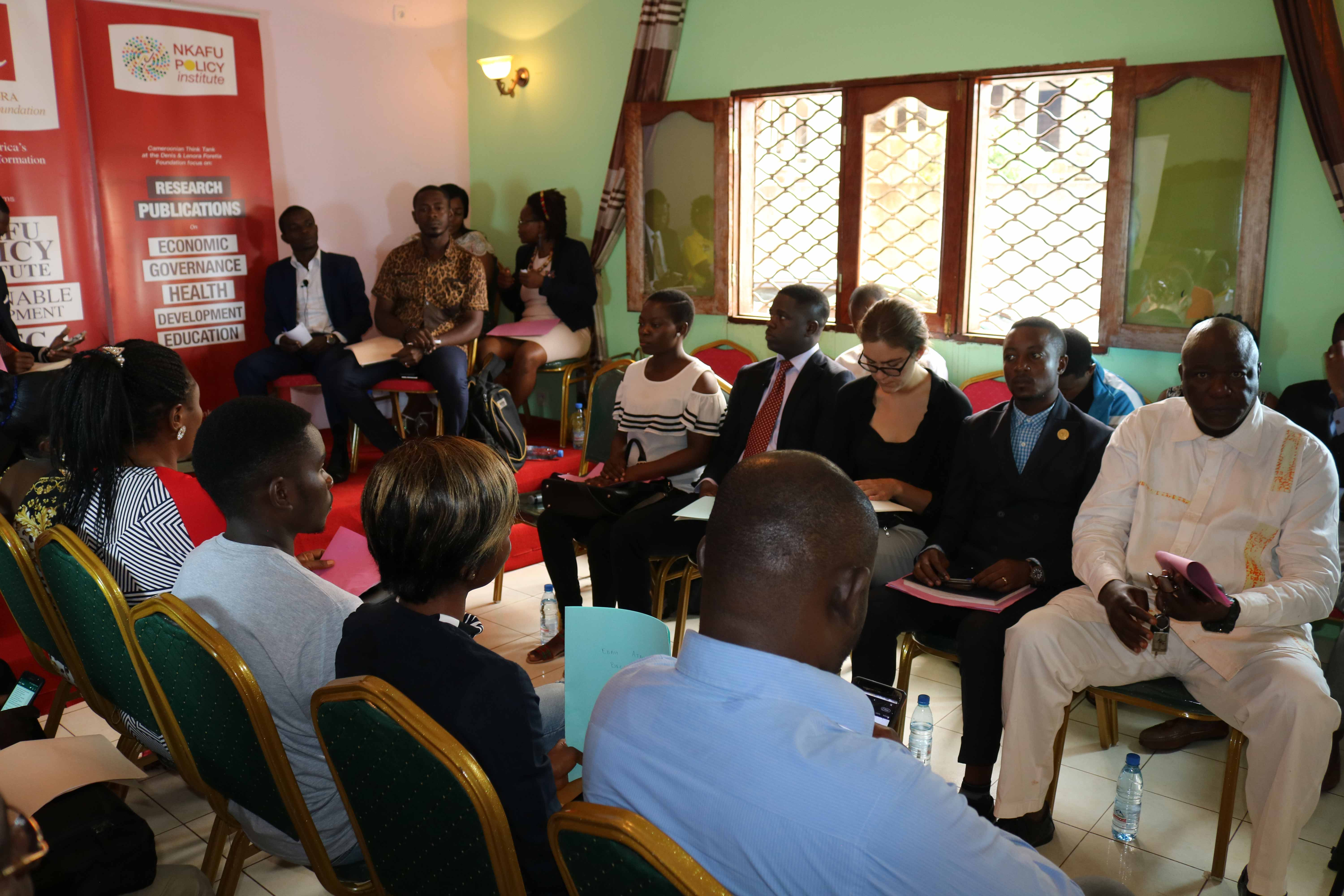 Forum: Community Involvement in Promoting Peace in Cameroon