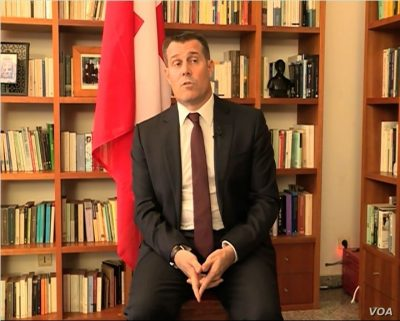 Switzerland ambassador to Cameroon