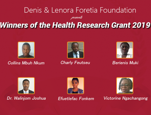 Winners of Health Research Grant 2019
