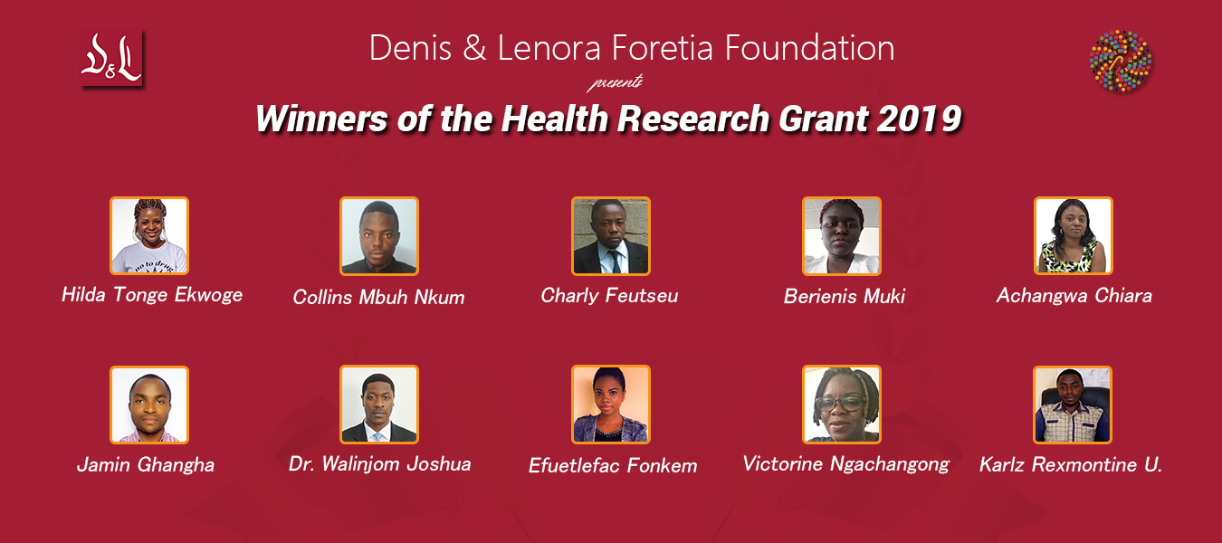 winners-2019 Health Research GrantR