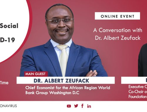 Video – A Conversation with Dr Albert Zeufack (Chief Economist for the African Region World Bank Group)