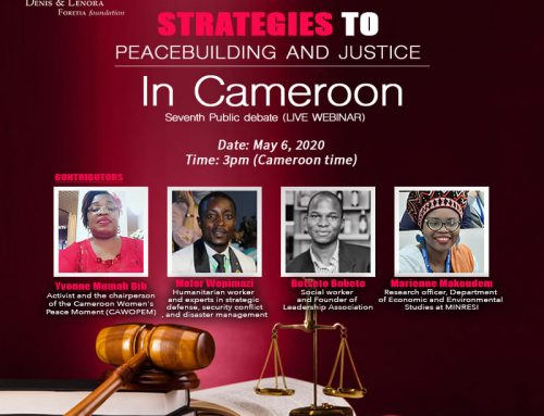 Protection Of Vulnerable, Ceasefire, Proposed As Strategies To Peace building And Justice In Cameroon