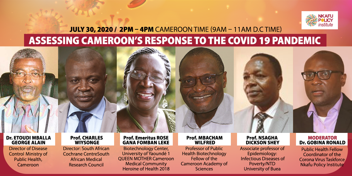 ASSESSING CAMEROON'S RESPONSE TO THE COVID 19 PANDEMIC-lin
