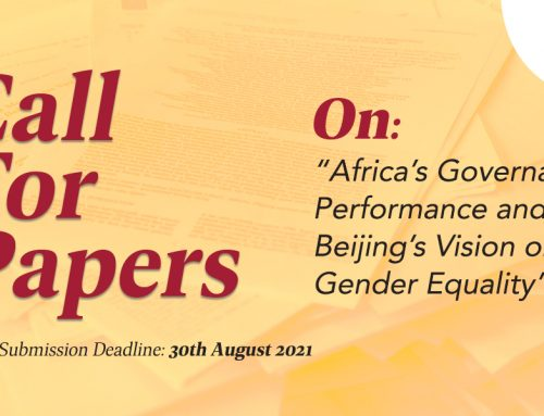 Call For Papers (CFP 4): Africa's Governance Performance